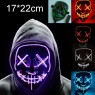 EL Wire Scary Light Up Mask tt1125