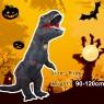 Grey Kids T-Rex Blow up Dinosaur Inflatable Costume