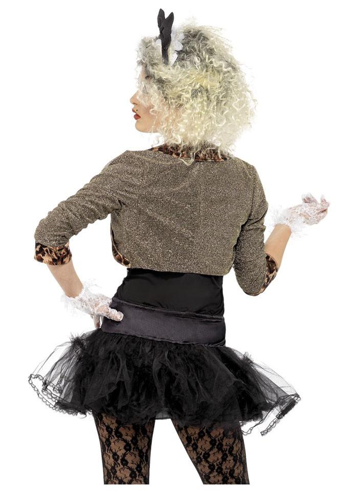 Women/'s 1980/'s Party Girl Wild Child Fancy Dress Costume Kit Madonna Hen Theme