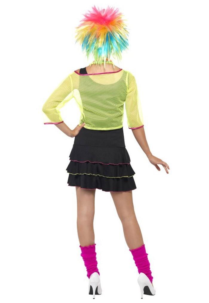 80/'S Pop Star Costume Smiffys Fancy Dress Costume