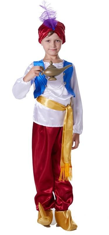 Boys Arabian Genie Aladdin Arab Prince Costume Childrens Kids Book Week Costume