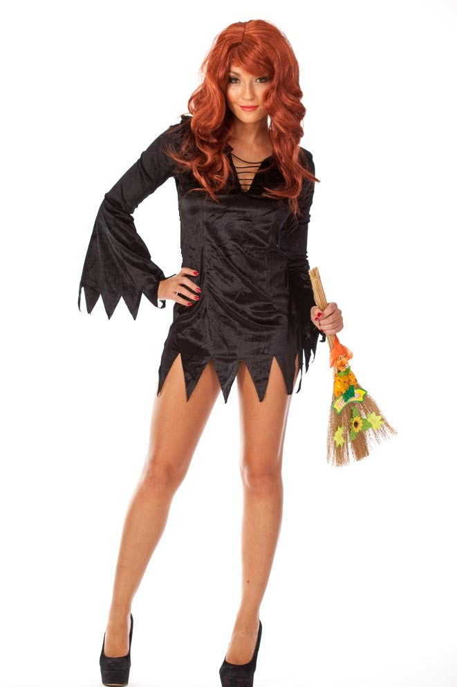 Amazon.com: Halloween Witch Costume Womens Sexy Kitten