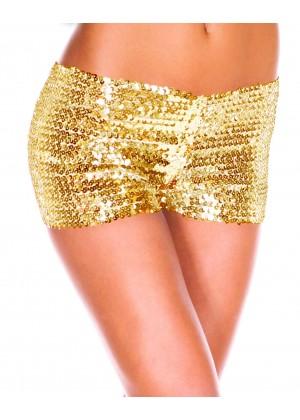 Gold Sequin short