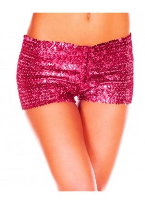 Pink Sequin short Ladies