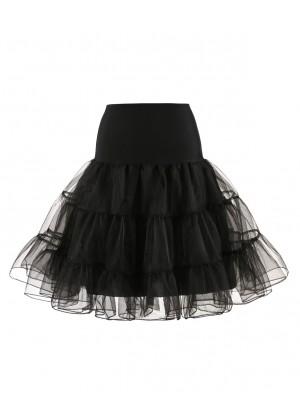 Black 50s Vintage Petticoat