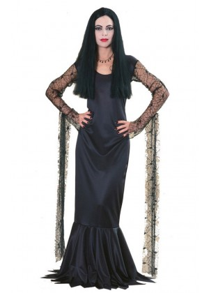 The Addams Family Morticia Adult Licensed Costume Halloween