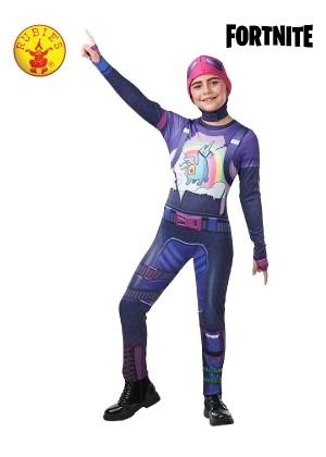 Kids Boys Girls Teen Halloween Cosplay Costume Jumpsuit Brite Bomber Fortnite