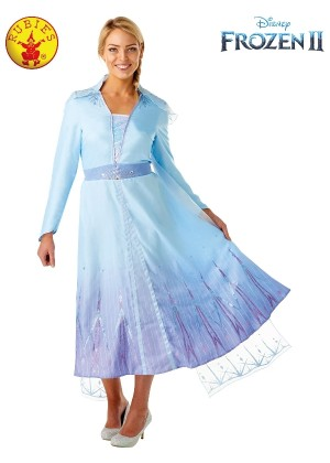 ELSA DELUXE FROZEN 2 COSTUME LADIES