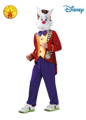 WHITE RABBIT ALICE IN WONDERLAND COSTUME Kids