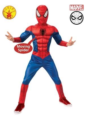 Boys Spider-man Duluxe Costume