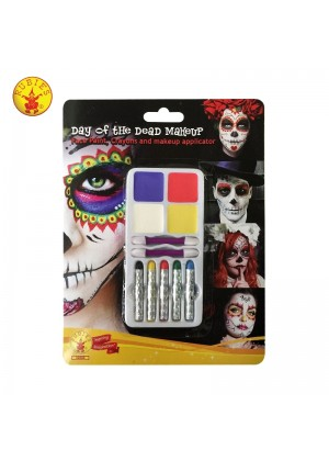 Day of the Dead Make Up Halloween Kit