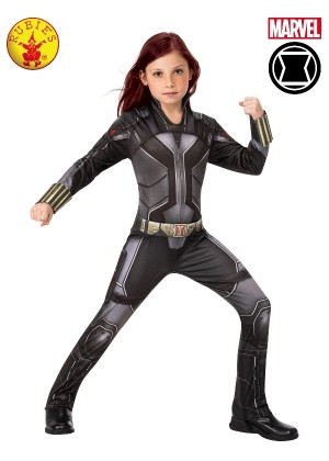 GIRLS BLACK WIDOW CLASSIC COSTUME cl3966
