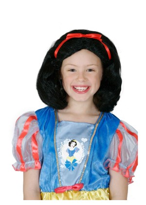 KIDS SNOW WHITE WIG cl4037