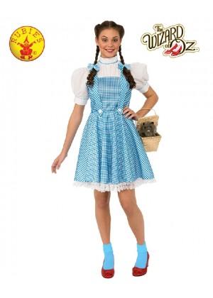 Adult Ladies Storybook Licensed The Wizard of Oz Dorothy Book Week Dress Costume