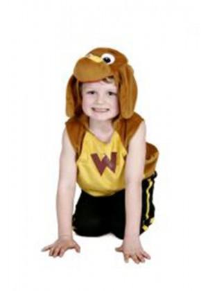 Boys Kids Costume Dress Up The Wiggles Wags Plush Tabard Dog Child Book Week