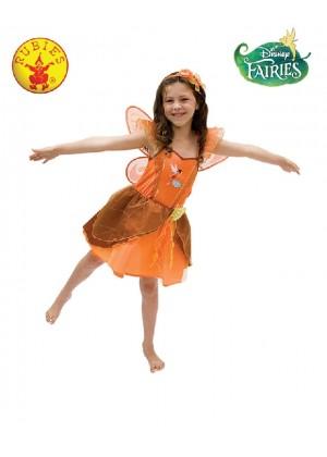 Fawn Crystal Fairies Girls Fairy Fairie Dress Up Child Girl Book Week Costume