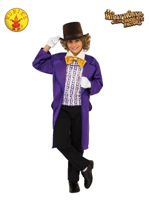 Kids Willy Wonka Chocolate Factory Costume cl620933