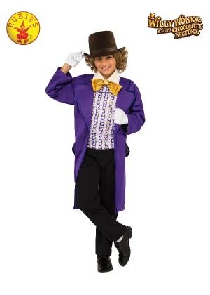 Kids Willy Wonka Chocolate Factory Costume