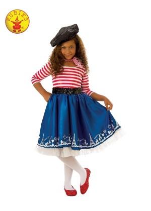 Girls Parisian Mademoiselle Costume cl641141