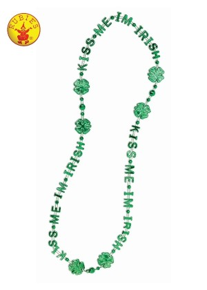 Kiss Me I'm Irish St Patrick's Day Beads cl65497