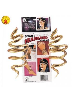 Cleopatra Gold Snake Arm Band Bracelet  cl687