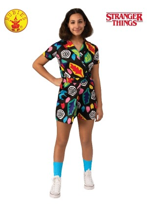 Child Teen Eleven Mall Costume Stranger Things cl701014
