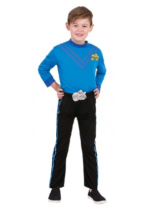 Anthony Blue The Wiggle Child Kids Book Week Party Dress Up Costume
