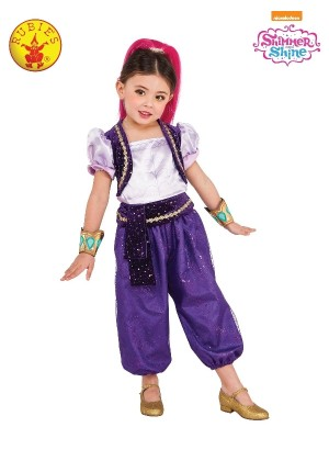 Girls Shimmer Deluxe Costume cl8091