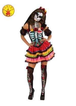 Womans Day of the Dead Senorita Costume cl810622