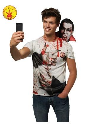 Mens Vampire Selfie Shocker Costume cl820477