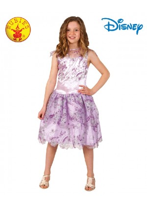 Child Deluxe MAL DESCENDANTS Isle Disney Costume Girls Fancy Dress Book Week Outfit