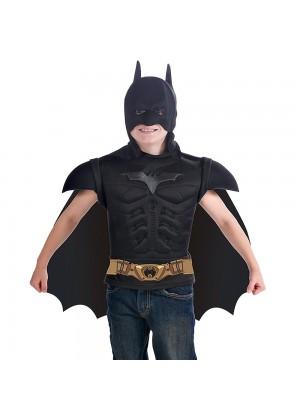 Batman Superhero Dark Knight Halloween Cosplay Kids Child Outfit Boys Fancy Costume