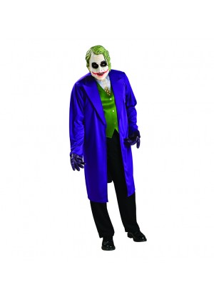 Adult Mens Batman Dark Knight The JOKER Grand Heritage Collection Fancy Book Week Costume