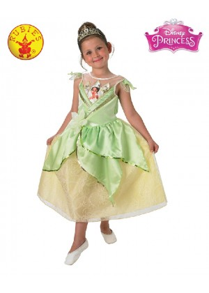 Girls Tiana Shimmer Deluxe Costume cl889220