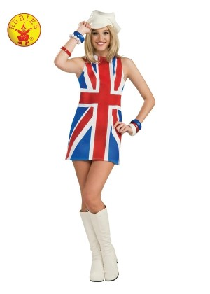 Ladies British Invasion Costume cl889703
