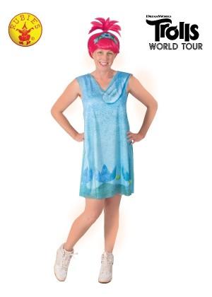 Women Poppy Trolls 2 Costume cl9160