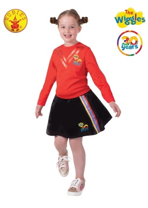 Girls The Wiggles 30th Anniversary Skirt cl9807