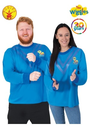 Adult Anthony Wiggle 30th Anniversary Top cl9817