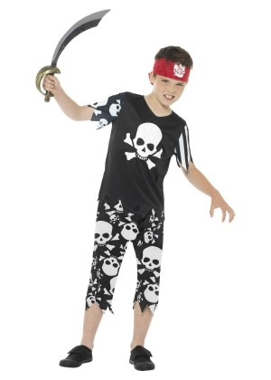 Kids Rotten Pirate Boy Costume