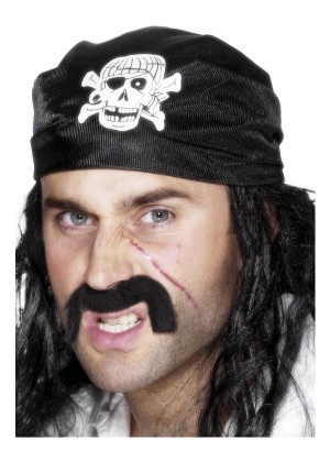 Pirate Skull Bandanna cs25590