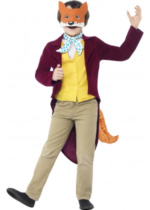 Roald Dahl Fantastic Mr Fox Costume Boys World Book Week Fancy Dress Kids Child