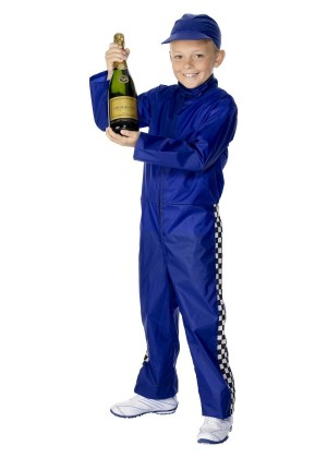 Boys Racing Driver Costume cs30431