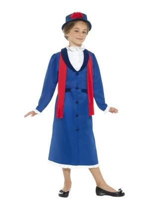 Kids Victorian Nanny Costume