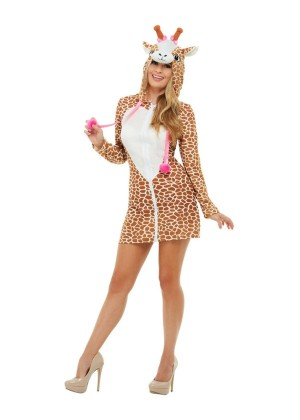 LADIES GIRAFFE COSTUME