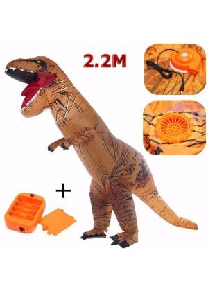 ADULT T-REX INFLATABLE Costume Jurassic World Park Blowup Dinosaur TRex T Rex