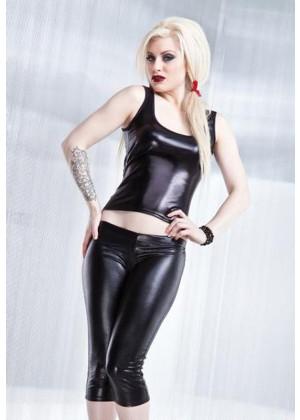 Club Wear - Black Pvc Clubwear