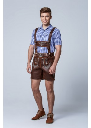 PU Leather Bavarian Guy Costume