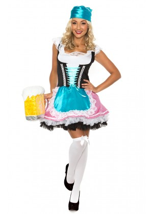 Wench Beer Girl Costume