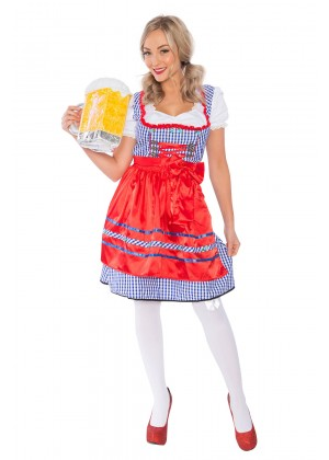 Ladies Oktoberfest Gretchen Costume lh175-2