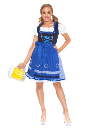 Ladies Beer Maid Heidi Costume